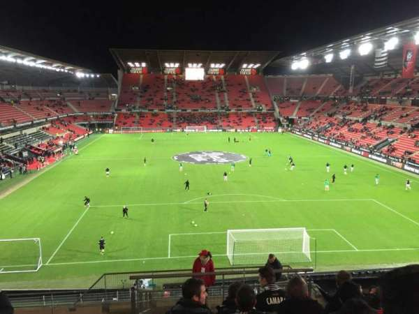 Roazhon Park, secção: Ville De Rennes, fila: Y, lugar: 44-6