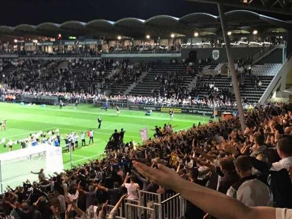 Stade Raymond Kopa, secção: Coubertin F, fila: AC, lugar: 145