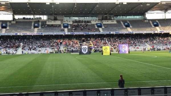 Le Stadium de Toulouse, secção: Honneur Sud, fila: 14, lugar: 225