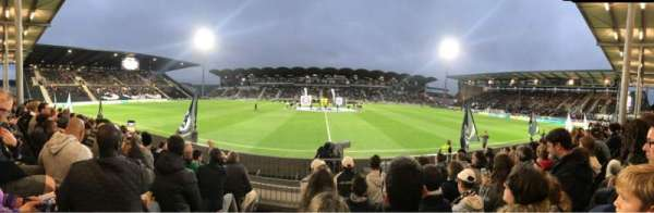 Stade Raymond Kopa, secção: Saint leonard Centrale, fila: F, lugar: 28