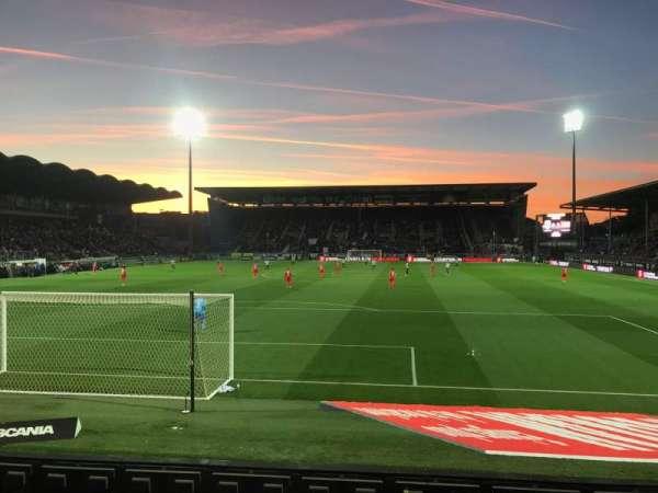 Stade Raymond Kopa, secção: Colombier D, fila: I, lugar: 30