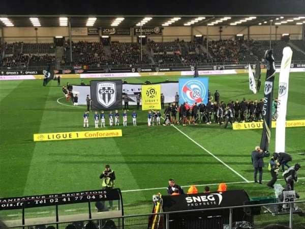 Stade Raymond Kopa, secção: Jean Bouin, fila: N, lugar: 1