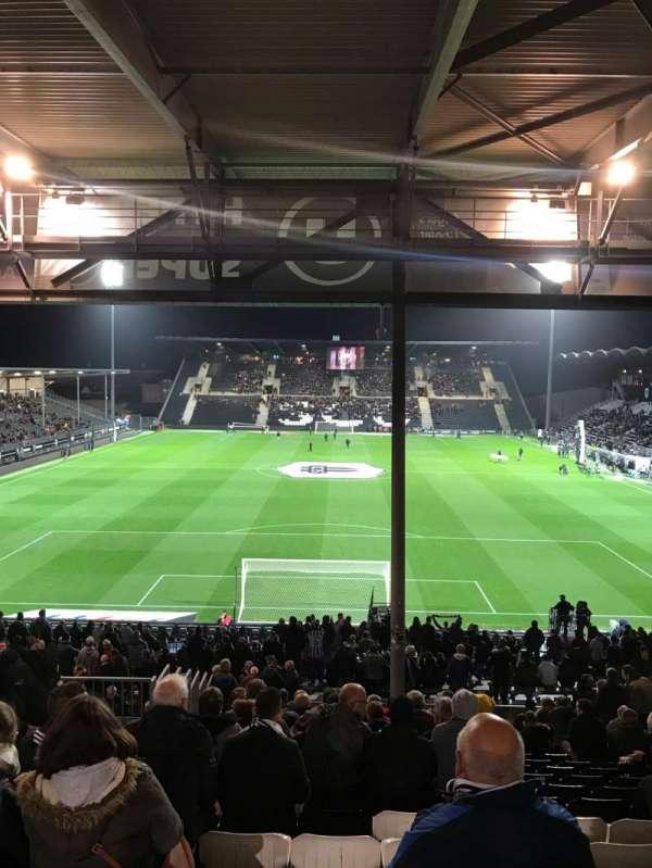 Stade Raymond Kopa, secção: Coubertin, fila: AG, lugar: 92