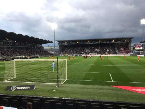Stade Raymond Kopa, secção: Colombier, fila: D, lugar: 30