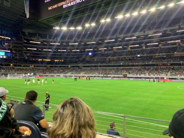AT&T Stadium, secção: C133, fila: 4, lugar: 3
