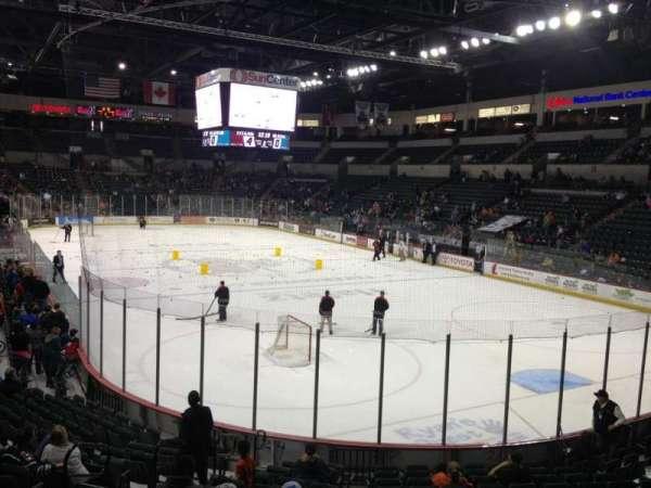 Cure Insurance Arena, secção: 102