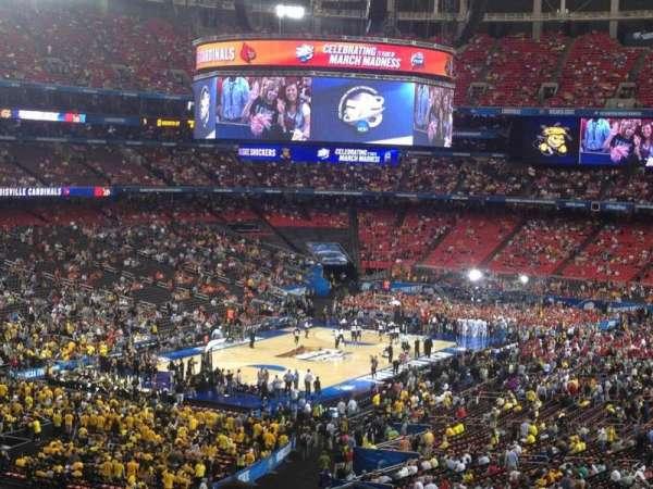 Georgia Dome, secção: 230, fila: 15, lugar: 7