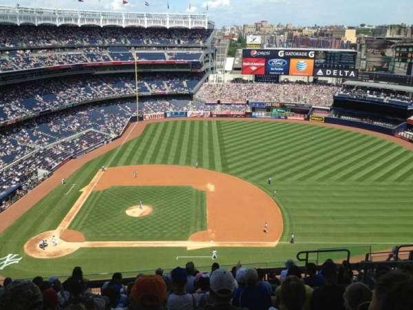 Yankee Stadium, secção: 416, fila: 11, lugar: 10