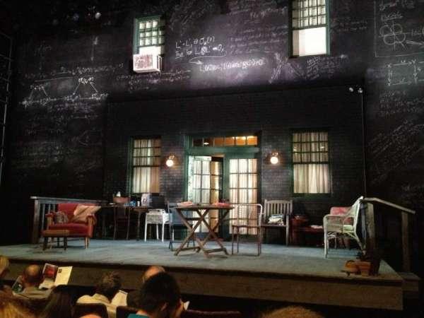 Berlind Theatre, secção: Floor 1, Aisle A, fila: C, lugar: 101