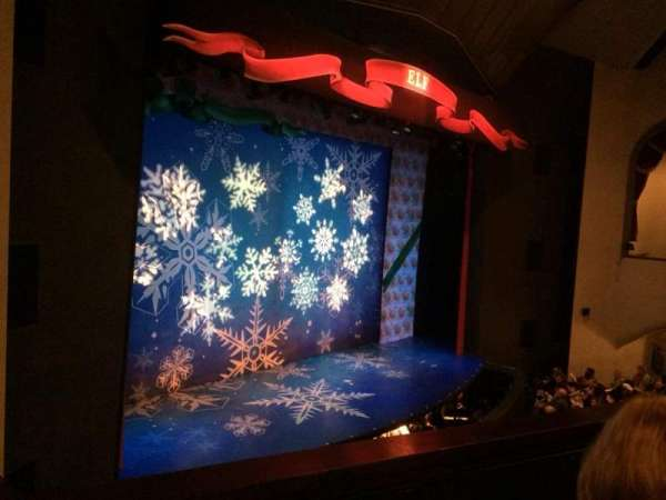 Walnut Street Theatre, secção: MZLEFT, fila: B, lugar: 207
