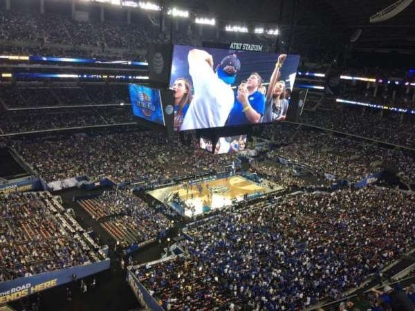 AT&T Stadium, secção: 449, fila: 1, lugar: 1