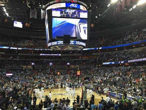 Capital One Arena, secção: 105, fila: L, lugar: 1