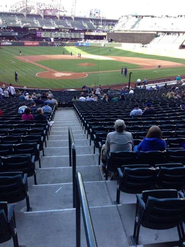 T-Mobile Park, secção: 127, fila: 35, lugar: 34