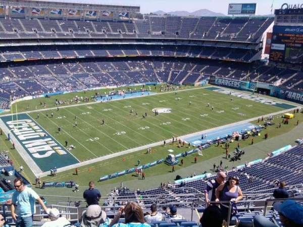 San Diego Stadium, secção: V30, fila: 15, lugar: 15