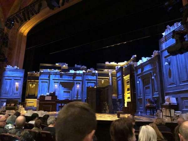 American Airlines Theatre, secção: Orchestra R, fila: F, lugar: 6