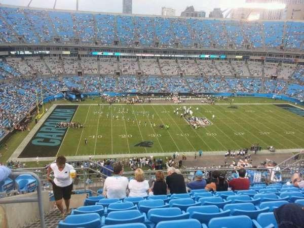 Bank of America Stadium, secção: 544, fila: 7, lugar: 17