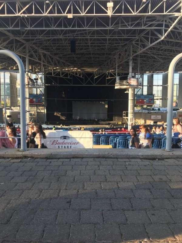 Budweiser Stage, secção: Lawn