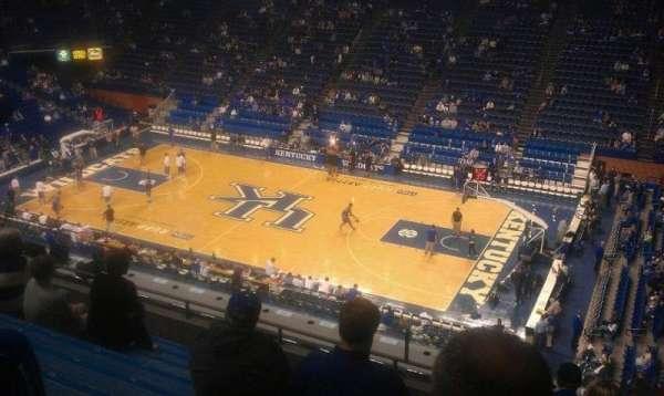 Rupp Arena, secção: 230, fila: K, lugar: 6