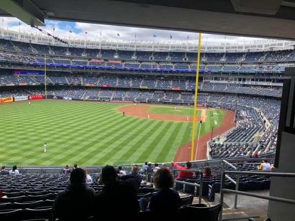 Yankee Stadium, secção: 233B, fila: 23, lugar: 6