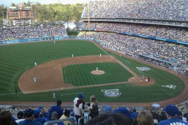 Dodger Stadium, secção: 15RS, fila: L, lugar: 19