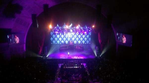 Radio City Music Hall, secção: 3rd mezzanine 4, fila: A, lugar: 411