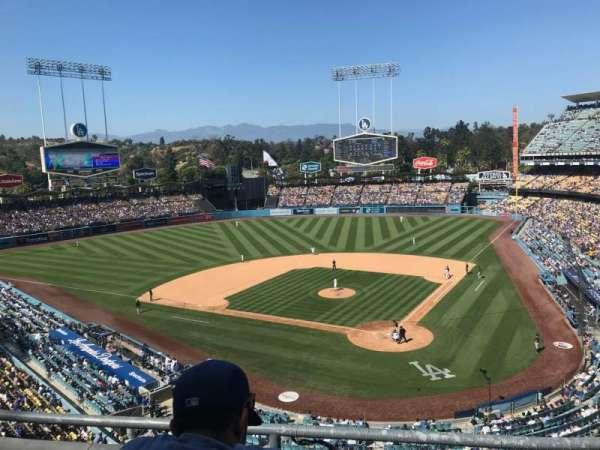 Dodger Stadium, secção: 5RS, fila: C, lugar: 11