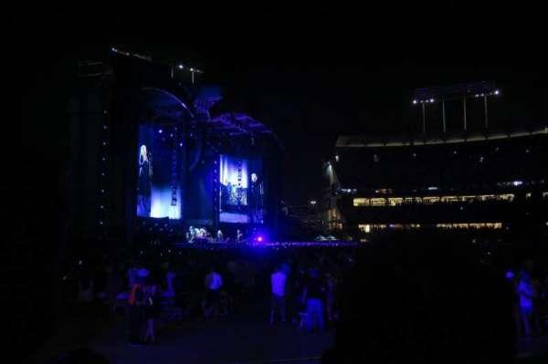 Dodger Stadium, secção: 47FD, fila: D, lugar: 5