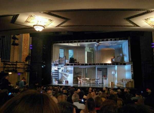 Gerald Schoenfeld Theatre, secção: Orchestra C, fila: Q, lugar: 112