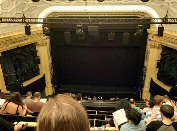 Hudson Theatre, secção: Balcony C, fila: G, lugar: 112