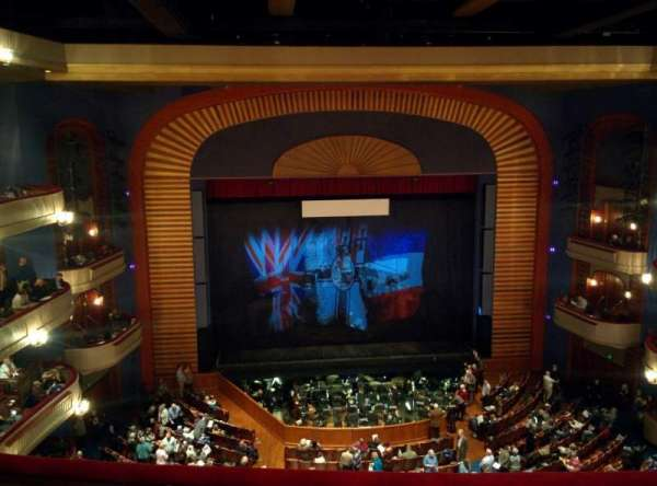 Ordway Center for the Performing Arts - Music Theater, secção: Gallery, fila: D, lugar: 207