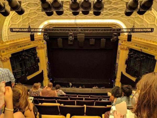 Hudson Theatre, secção: Balcony, fila: G, lugar: 113