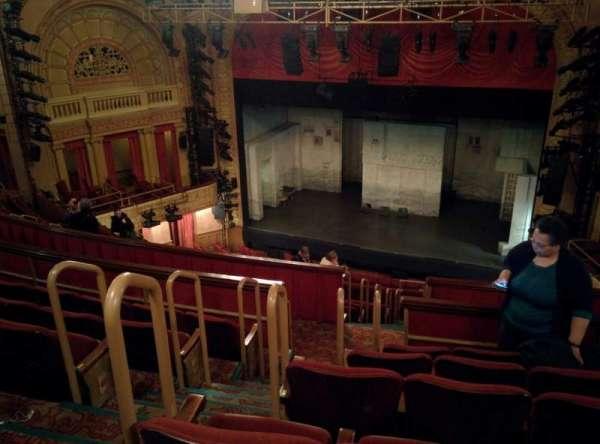 Ethel Barrymore Theatre, secção: Rear Mezzanine, fila: F, lugar: 8
