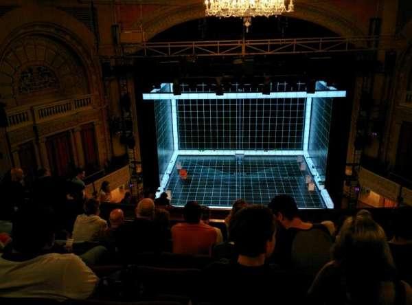 Ethel Barrymore Theatre, secção: Rear Mezzanine C, fila: F, lugar: 107