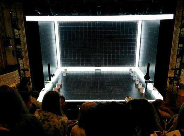 Ethel Barrymore Theatre, secção: Front Mezzanine R, fila: E, lugar: 8