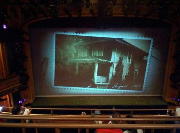 American Airlines Theatre, secção: Rear Mezzanine, fila: E, lugar: 123