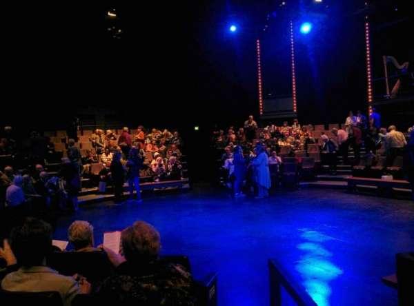 Arden Theatre, secção: G, fila: 4, lugar: 1