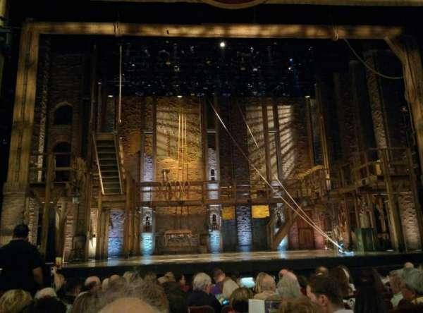 Forrest Theatre, secção: Orchestra C, fila: K, lugar: 111
