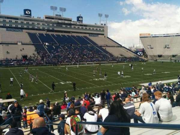 LaVell Edwards Stadium, secção: 37, fila: 18, lugar: 2