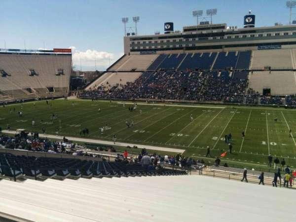 LaVell Edwards Stadium, secção: 132, fila: 1, lugar: 28