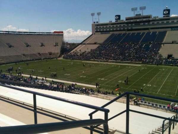 LaVell Edwards Stadium, secção: 131, fila: 4, lugar: 14