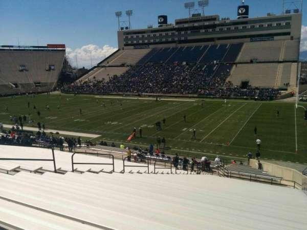 LaVell Edwards Stadium, secção: 31, fila: 38, lugar: 2
