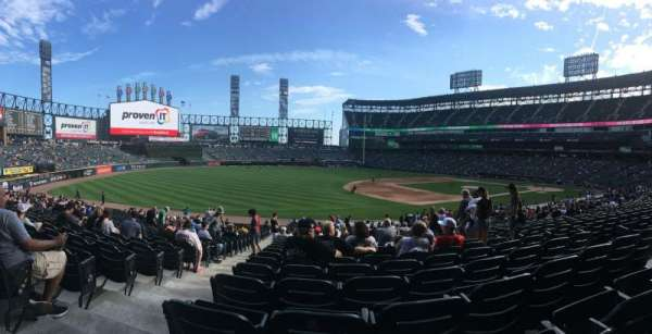 Guaranteed Rate Field, secção: 146, fila: 32, lugar: 8