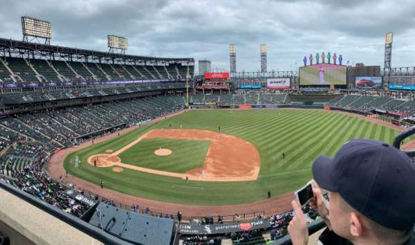 Guaranteed Rate Field, secção: 524, fila: WC, lugar: 1