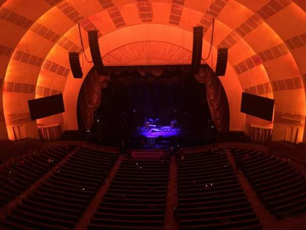Radio City Music Hall, secção: 3RD Mezzanine 3, fila: B, lugar: 313