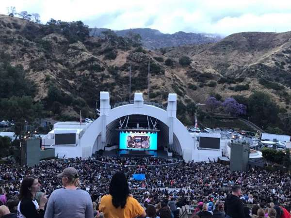 Hollywood Bowl, secção: W2, fila: 1, lugar: 101