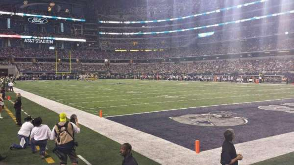AT&T Stadium, secção: 126, fila: 1, lugar: 14