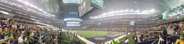 AT&T Stadium, secção: 126, fila: 1, lugar: 15