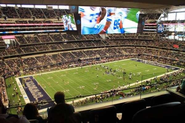 AT&T Stadium, secção: Suite 510, fila: 1, lugar: 6