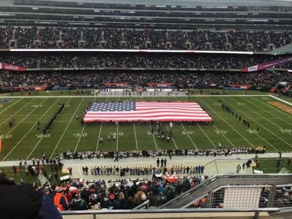 Soldier Field, secção: 438, fila: 3, lugar: 10
