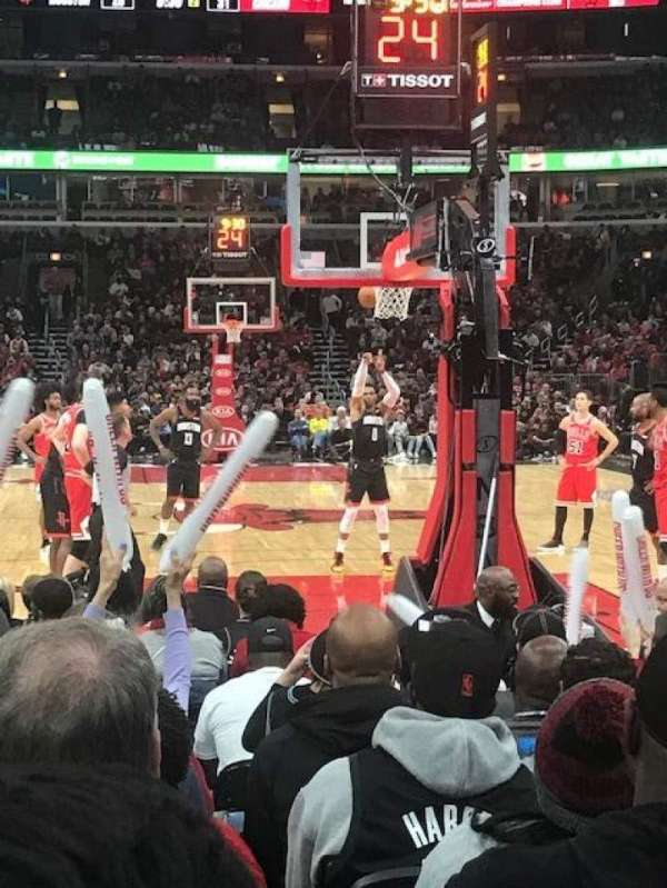 United Center, secção: 117, fila: K, lugar: 1